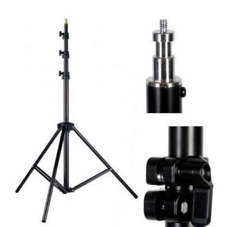 Gaismu statīvi - Linkstar statīvs gaismām 92-266cm L-26M ar gaisa aizsargsistēmu 562026 - perc šodien veikalā un ar piegādi