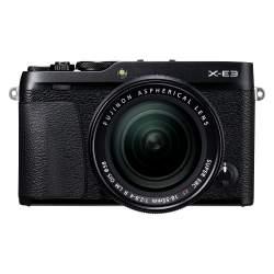 Bezspoguļa kameras - Fujifilm X-E3 + 18-55mm Kit, melns - ātri pasūtīt no ražotāja