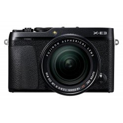Mirrorless Cameras - Mirrorless Digital Camera Fujifilm X-E3 XF18-55 Kit Black - quick order from manufacturer