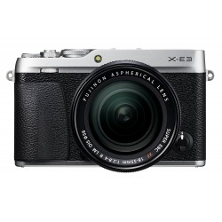 Mirrorless cameras - Fujifilm X-E3 + 18-55mm Kit, silver - quick order from manufacturer