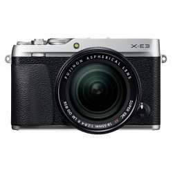 Mirrorless Cameras - Mirrorless Digital Camera Fujifilm X-E3 XF18-55 Kit Silver - quick order from manufacturer