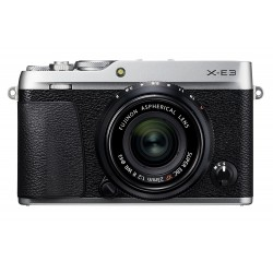 Mirrorless cameras - Fujifilm X-E3 + 23mm f/2.0 Kit, silver - quick order from manufacturer