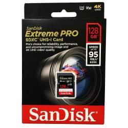 Atmiņas kartes - SanDisk Extreme PRO SDXC UHS-I V30 95MB/s 128GB (SDSDXXG-128G-GN4IN) - perc veikalā un ar piegādi