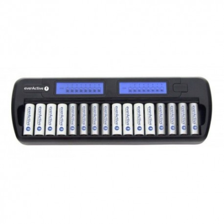 Batteries and chargers - everActive NC-1600 NiMH 1-16 AA/AAA lādētājs 16 baterijām - quick order from manufacturer