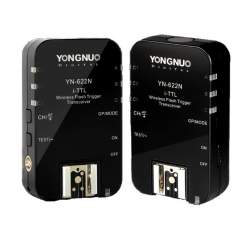 Triggers - A set of two Yongnuo YN622N II flash triggers for Nikon - buy today in store and with delivery