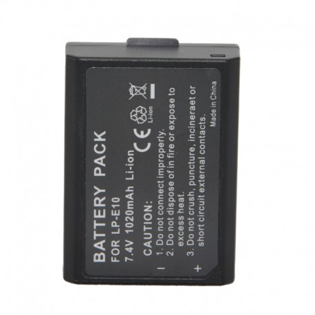 Camera Batteries - Battery LP-E10 for Canon EOS 1100D 1200D 960mAh, fotokameras akumulators - buy today in store and with delivery