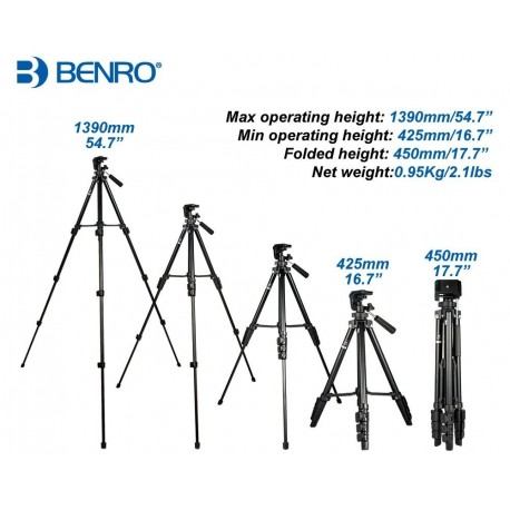 Benro T560 statīvs
