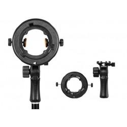 Аксессуары для вспышек - Bresser TR-5 Speedlite adapter for super softbox - купить в магазине и с доставкой