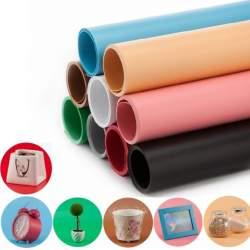 Foto foni - Jinbei 100x200cm PVC backgrounds fons Sarkana krāsa - perc šodien veikalā un ar piegādi