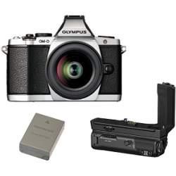 Jaunums - Olympus E-M5II 1240 Kit slv/blk + HLD-8 Power Battery Holder + BLN-1 Battery - ātri pasūtīt no ražotāja