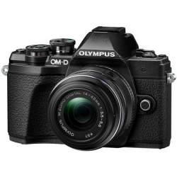 Bezspoguļa kameras - Olympus E-M10III 1442IIR Kit blk/blk - perc veikalā un ar piegādi