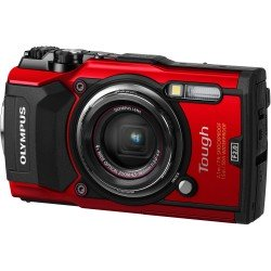 Compact cameras - Olympus TG-5 Red - 12MP 4x Zoom 3.0 LCD 15m waterproof 4K RAW WiFi - quick order from manufacturer