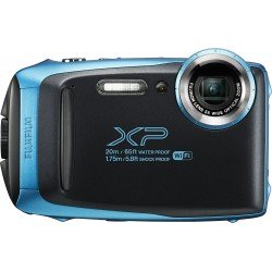 Compact cameras - Waterproof Digital Camera Fujifilm FinePix XP130 Sky Blue - quick order from manufacturer