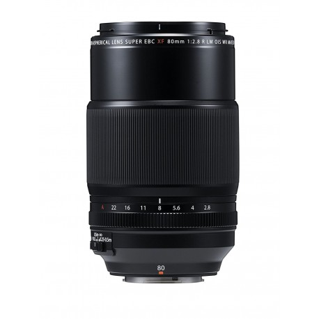 Objektīvi - Fujifilm Fujinon XF80mm F2.8 R LM OIS WR Lens Macro - ātri pasūtīt no ražotāja