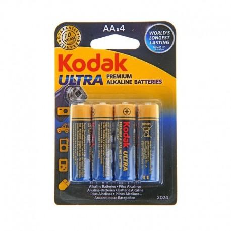 Батарейки и аккумуляторы - Kodak Baterija KODAK LR6*4gb ULTRA DIGITAL - быстрый заказ от производителя