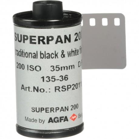 Foto filmiņas - Rollei Superpan 200 35mm 36 exposures - perc šodien veikalā un ar piegādi