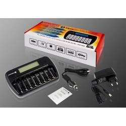 Akumulatori zibspuldzēm - everActive NC-800 AA/AAA lādētājs - perc veikalā un ar piegādi