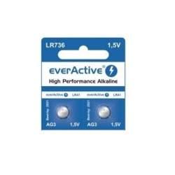 Pirkstiņu baterijas zibspuldzēm - everActive LR1154/LR44/G13 1.5V 150mAh Alkaline baterija - perc šodien veikalā un ar piegādi