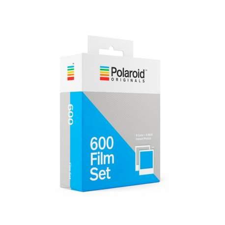 Foto filmiņas - POLAROID ORIGINALS COLOR/B&W FILM FOR 600 2-PACK - perc veikalā un ar piegādi