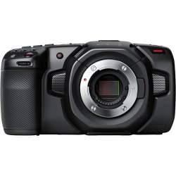 Videokameras - Blackmagic Pocket Cinema Camera 4K CINECAMPOCHDMFT4K - perc šodien veikalā un ar piegādi