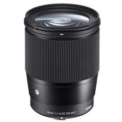 Lenses - Sigma 16mm f/1.4 DC DN Contemporary lens for Micro Four Thirds - buy today in store and with delivery