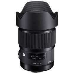 Lenses - Sigma 20mm F1.4 DG HSM Sony E-mount [ART] - quick order from manufacturer