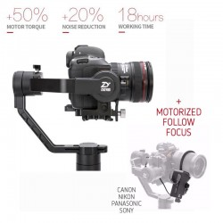 Steadycams - Zhiyun Crane 2 incl mechanical motorised follow focus - buy today in store and with delivery