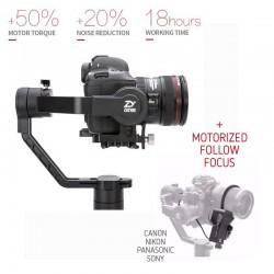 Video stabilizatori - Zhiyun Crane 2 Stabilizators ar follow focus motoru - perc šodien veikalā un ar piegādi