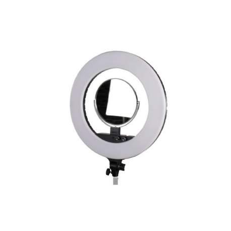 """""""Ring"""" pastāvīgā gaisma - StudioKing LED Ring Lamp Set LED-480ASK on 230V - perc šodien veikalā un ar piegādi"""