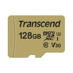 Atmiņas kartes - TRANSCEND GOLD 500S MICROSD W/ADP (V30) R95/W60 32GB - buy today in store and with delivery