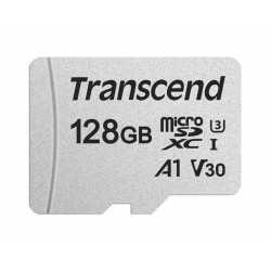 Atmiņas kartes - TRANSCEND 128GB UHS-I U3A1 SILVER MICROSD W/O ADAP - perc veikalā un ar piegādi