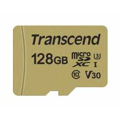 Memory cards - TRANSCEND 64GB UHS-I U3 GOLD MICROSD W. ADAPT - quick order from manufacturer