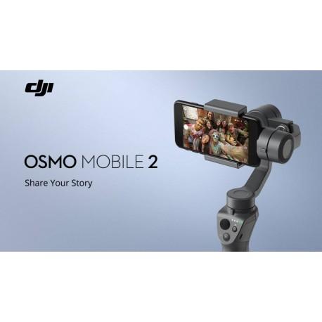 Stabilizatori - DJI Osmo Mobile 2 stabilizators, melns - ātri pasūtīt no ražotāja