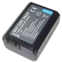 Kameras akumulatori un gripi - Battery NP-FW50 1080mAh 7.2V for Sony DSLR A33 A55 NEX-3 NEX-5, fotokameras akumulators - perc šodien veikalā un ar piegādi