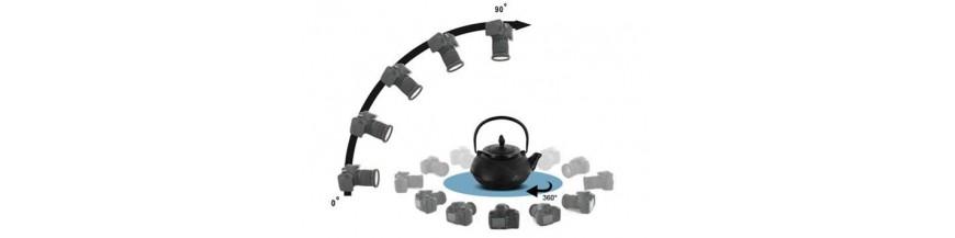 3D/360 foto sistēmas