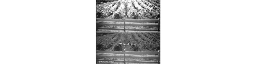 IR infrasarkanie filtri