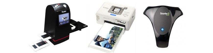 Printer, Scaner, Calibrators
