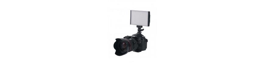On-camera LED light