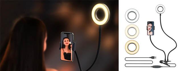 Как выбрать размер кольцевой лампы?