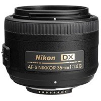Nikon AF-S 35mm F/1.8G DX noma