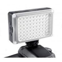 LED gaismas uz kameras